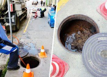 Odgušenja kanalizacije